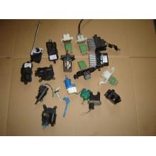 Elektonické moduly kurenia , pedalov a natočenia volantu